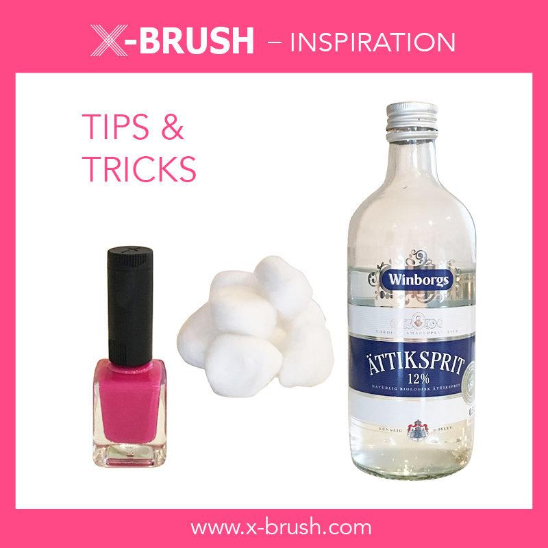 Secret for lasting nail polish – X-Brush